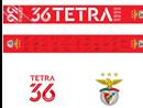 Cachecol Benfica Tetracampeão - Edição exclusiva