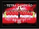 Quadro 3D Benfica Tetracampeão