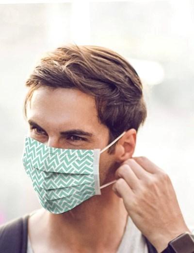 Máscaras Reutilizáveis - modelo Hipster