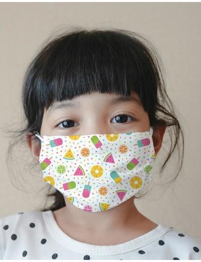 Máscaras Reutilizáveis - modelo Summer