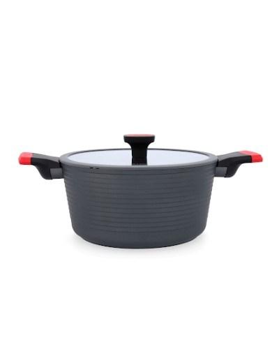 Trem Cozinha Nero Valira - Caçarola 24 cm c/ tampa