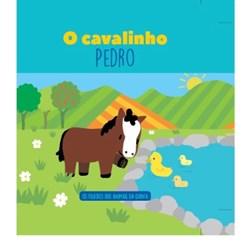 Filhotes dos Animais da Quinta- Livro cavalinho Pedro + Oferta de Peluche