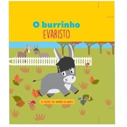 Filhotes dos Animais da Quinta - Livro Burrinho Evaristo +  Oferta de Peluche