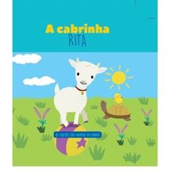 Filhotes dos Animais da Quinta - Livro Cabrinha Rita + Oferta de Peluche
