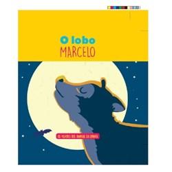 Filhotes dos Animais da Quinta - Livro Lobo Marcelo + Oferta de Peluche
