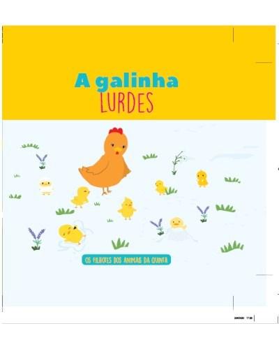 Filhotes dos Animais da Quinta - Livro Galinha Lurdes + Oferta de Peluche