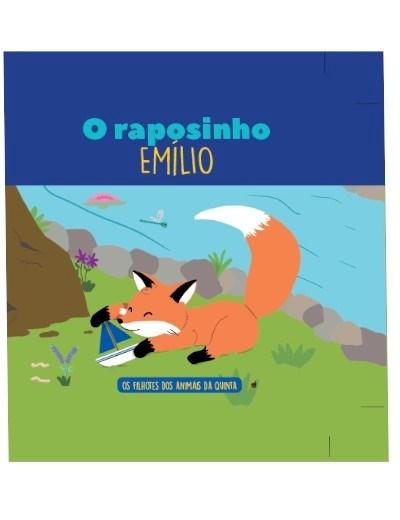 Filhotes dos Animais da Quinta - Livro Raposinho Emílio + Oferta de Peluche