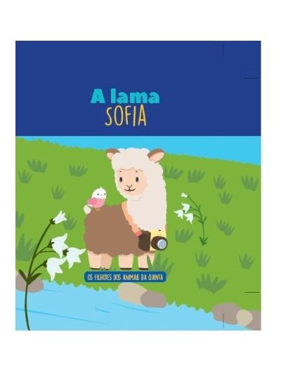 Filhotes dos Animais da Quinta - Livro Lama Sofia + Oferta de Peluche