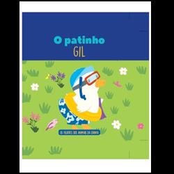 Filhotes dos Animais da Quinta  - Livro Patinho Gil + Oferta de Peluche