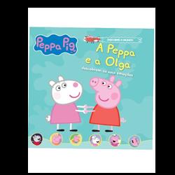 A Peppa e a Olga descobrem as suas emoções - 4º vol. + oferta boneca Olga.