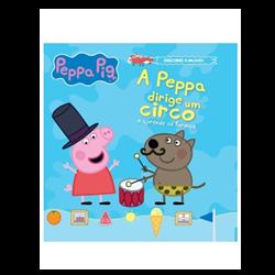 A Peppa dirige um circo e aprende as formas - Vol. 1 + oferta boneco Porquinha Peppa