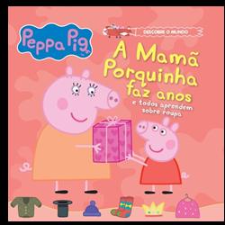 A Mamã Porquinha faz anos e todos aprendem sobre roupa - vol.5 + oferta boneco Mamã Porquiha
