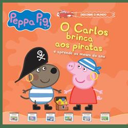 O Carlos brinca aos piratas e aprende os meses do ano - vol 6 + oferta boneco Carlos